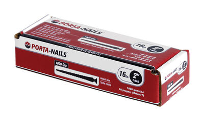 Porta-Nails 2 in. L 16 Ga. Flooring Nails 1 000 pc.