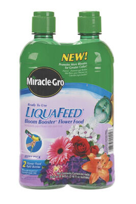 Miracle-Gro LiquaFeed Bloom Booster Refill Plant Food 2-16 oz.