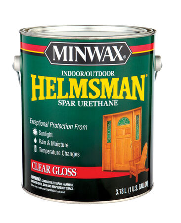 Minwax Helmsman Indoor and Outdoor Clear Gloss Spar Urethane 1 gal.