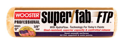 Wooster Super/Fab FTP Synthetic Blend Paint Roller Cover 3/8 in. L x 9 in. W