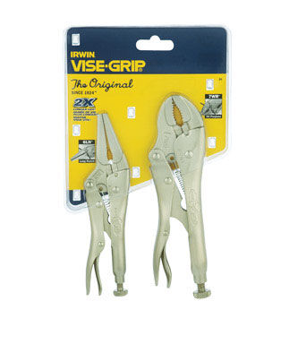Visegrip Carded Curved Jaw Wire Strip Plier 7In