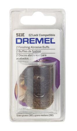 Dremel EZ Lock Metal Abrasive Buffs 15/16 in. 2 pk