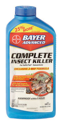 Bayer Advanced Complete 2-Way Formula Insect Killer For Soil and Turf Insects 40 oz.