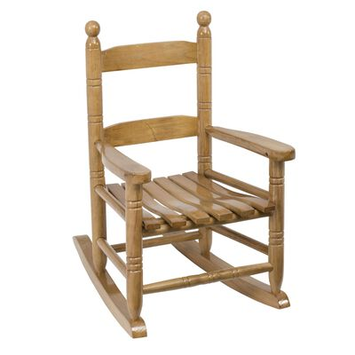Jack Post Brown Wood Knollwood Kid's Rocking Chair