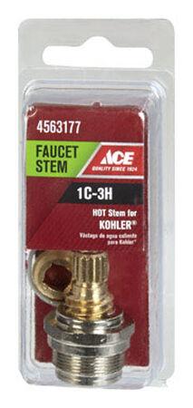 Ace Low Lead Hot 1C-3H Faucet Stem For Kohler