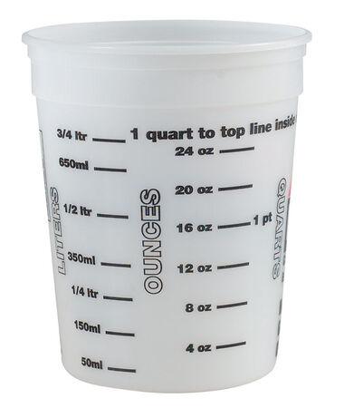 Ace Clear 1 qt. Plastic Bucket