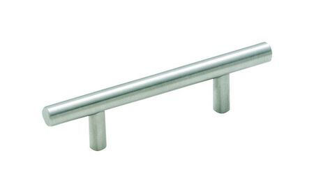 Amerock Cabinet Pull 5-3/8 in. L 1 in. Stainless Steel 1 pk