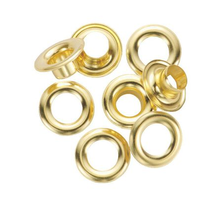 General Tools Grommet Refill 3/8 in. Solid Brass