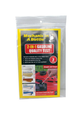Mechanic In A Bottle 2-In-1 Gasoline Quality Test 3 pc.