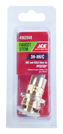 Ace Low Lead Hot and Cold 3H-8H/C Faucet Stem For Pfister