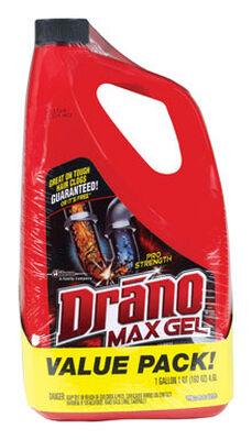 Drano Professional Strength Max Gel Clog Remover 1 gal.