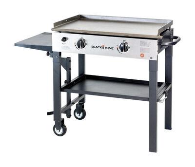 Blackstone 28 inch 2 Burner 2 burners Propane Black Grill 17000 BTU