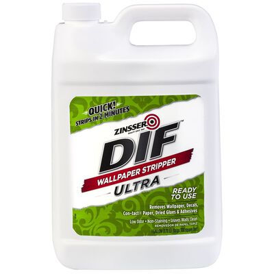 Zinsser DIF Quick Wallpaper Stripper 1 gal. Liquid