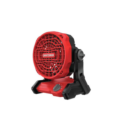 CRAFTSMAN 20-volt Max Jobsite Fan (Bare Tool) - Batteries Not Included