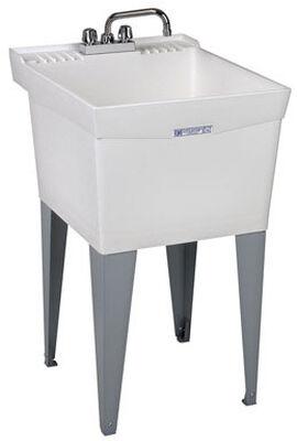 Utilatub Tub Laundry and Utility 20 in. x 24 in. x 34 in. 18 gal.
