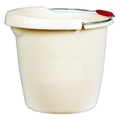 Rubbermaid 15 qt. Single Spout Bucket Bisque