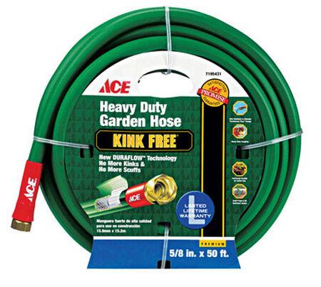 Ace Pressure Master 5/8 in. Dia. x 50 ft. L Garden Hose Kink Resistant