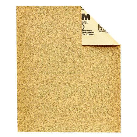3M 11 in. L x 9 in. W Assorted Grit Aluminum Oxide Sandpaper 5 pk