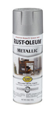 Rust-Oleum Stops Rust Nickel Matte Metallic Spray 11 oz.