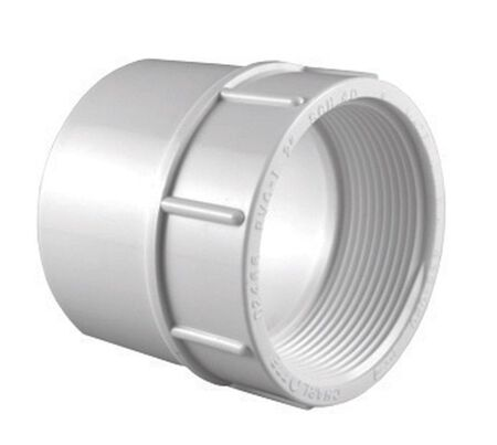 Charlotte Pipe 3/4 in. S x 1/2 in. Dia. FPT Pipe Adapter