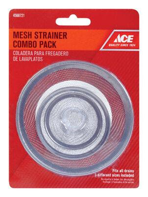 Ace Mesh Strainer Chrome