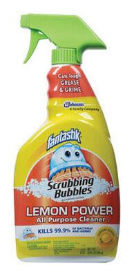 Fantastik Lemon Scent All Purpose Cleaner 32 oz. Liquid For Tile