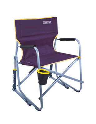 Purple & Gold Freestyle rocker