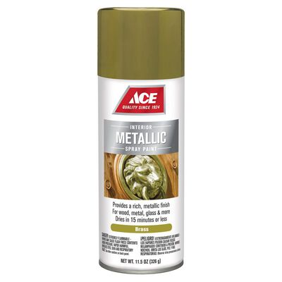 Ace Brass Metallic Spray Paint 11.5 oz.
