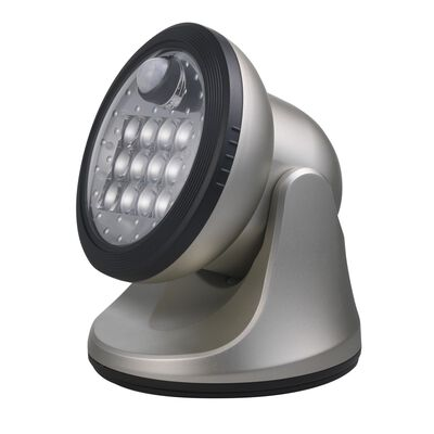 Fulcrum LIGHT IT Silver LED Outdoor Sensor Light