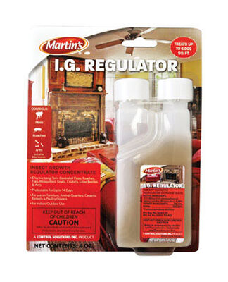 Martin's I.G. Regulator Insect Killer For Fleas Roaches Flies Other Insects 4 oz.