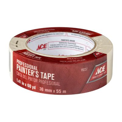 Ace 1.41 in. W x 60 yd. L General Purpose Painter's Tape Regular Strength Beige 1 pk