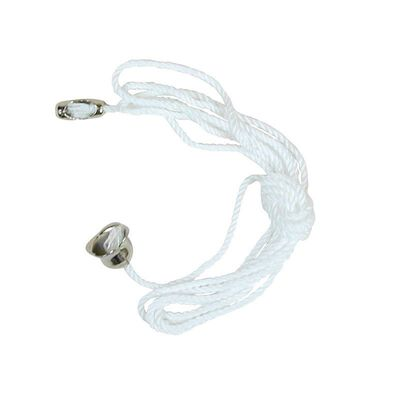 Jandorf Pull Chain White 3 ft. L 1 pk