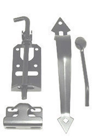 Ace Heavy Duty Thumb Latch For Opening Gates and Stalls Stainless Steel ACQ Lumber Compatible