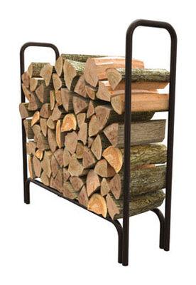 Panacea Powder Coated Steel Log Rack Outdoor