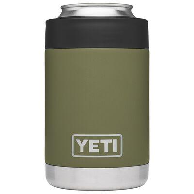 YETI Rambler Colster Stainless Steel Beverage Holder 1 pk Olive Green