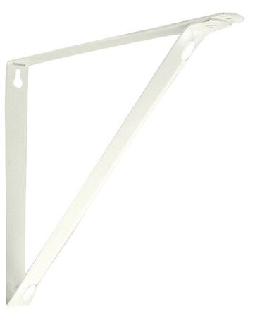 Knape & Vogt Closet Pro Steel Powder Coated Shelf Bracket 11 in. L