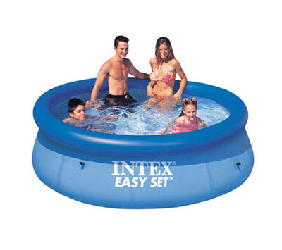 Intex Easy Set Inflatable Pool 639 gal. 30 in. H x 8 ft. L x 8 ft. W