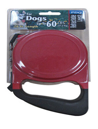 PDQ Plastic Dog Leash 26 ft. L