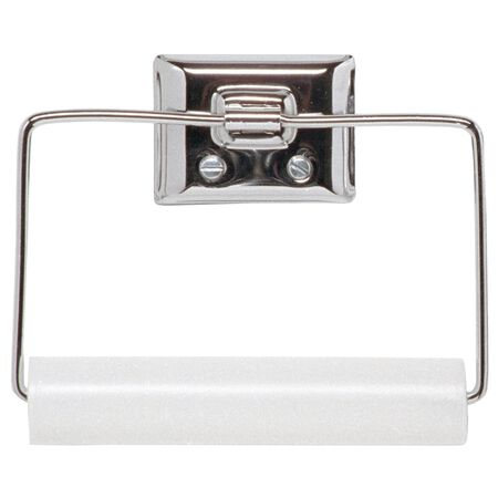 Decko Chrome Chrome Toilet Paper Holder