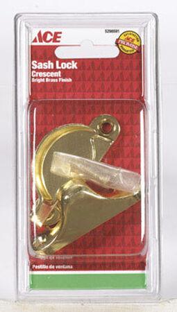 Ace Brass Brass Brass Sash Lock 1