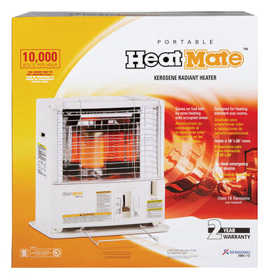 Heatmate Radiant Heater Kerosene 10 000 BTU 380 sq. ft.