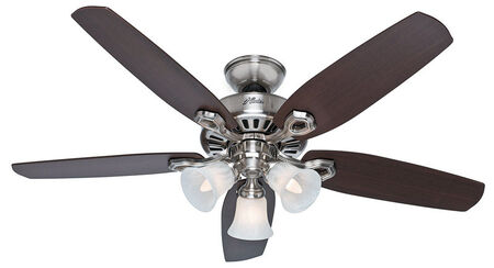 Hunter Ceiling Fan 13 in. W Brazilian Cherry/Harvest Mahogany