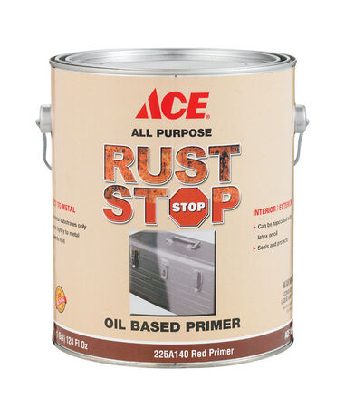 Ace Rust Stop Oil-Based Interior and Exterior Primer 1 gal. Red