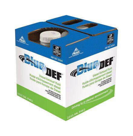 Peak Blue DEF Diesel Exhaust Fluid 2.5 gal.