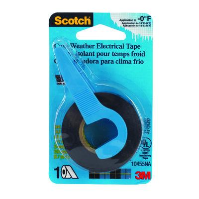 Scotch 3/4 in. W x 350 in. L Vinyl Electrical Tape Black