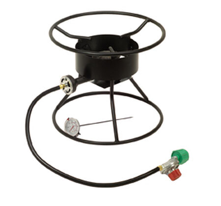 "King Kooker 12"" Heavy Duty Tri-pod Pressure Burner"
