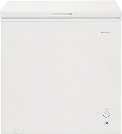 Frigidaire 33 Inch White Chest Freezer - 7.0 Cu. Ft. capacity