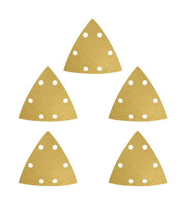 Imperial Blades Triangular Sandpaper 80 Grit 5 pk