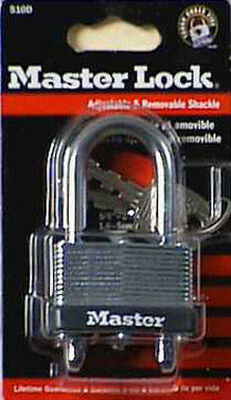 Master Lock 1-3/4 in. Warded Locking Laminated Steel Padlock