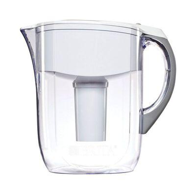 Brita Grand White 10 cups Water Filtration Pitcher